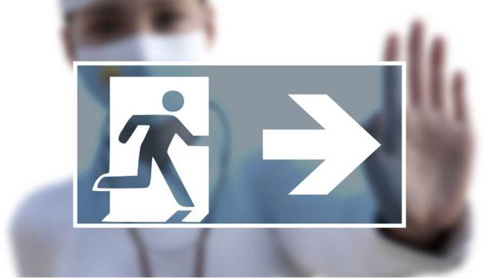 Больной COVID россиянин сбежал из больницы и заразил всю семью