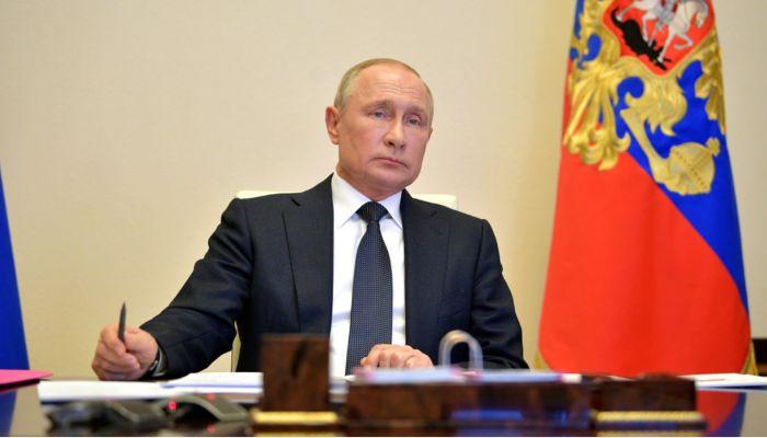 Путин обратится к россиянам у Вечного огня в День победы 9 мая