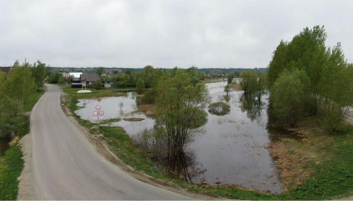Большая волна паводка может прийти в посёлок Затон уже в ближайшее время