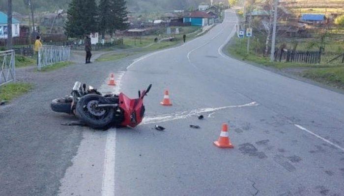 Молодой мотоциклист без прав погиб в Республике Алтай