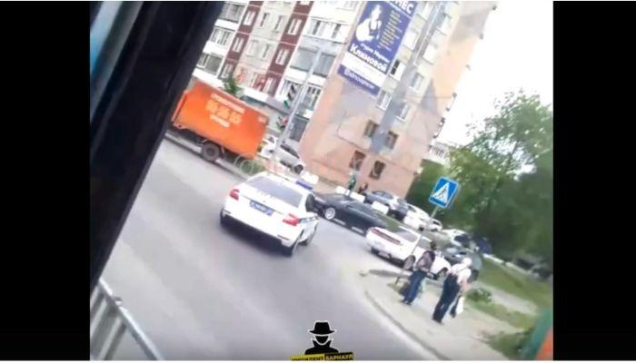 Угнали иномарку: появились подробности полицейской погони в Барнауле