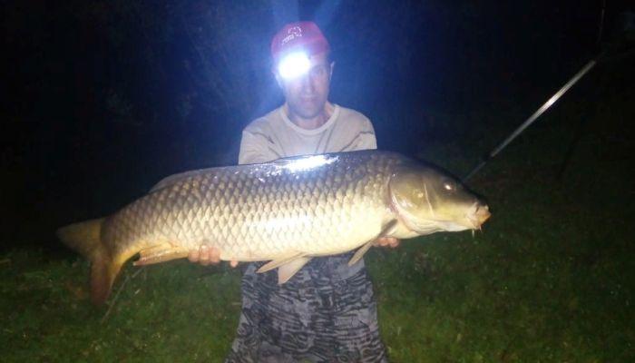 Житель Алтайского края поймал огромную рыбу и отпустил её