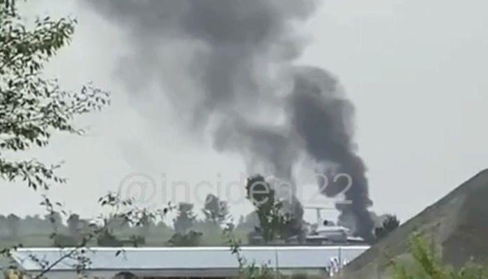 Стали известны подробности пожара в районе барнаульского аэропорта
