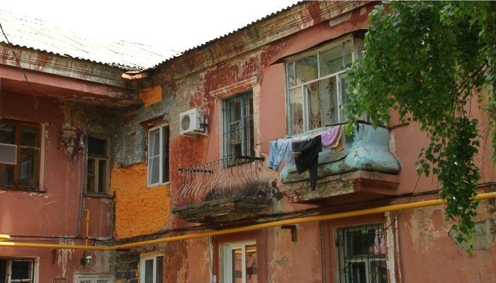 Коммунальный патруль: дом как плачевный памятник советской архитектуре