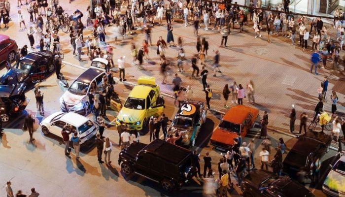 Полиция прокомментировала уличную вечеринку в центре Новосибирска