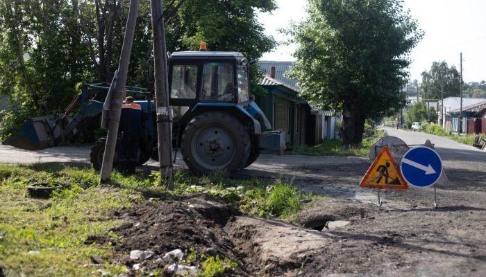 Барнаульцы пожаловались на сильное землетрясение из-за ремонта дороги