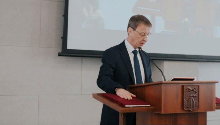 Вячеслав Франк поднялся в рейтинге российских мэров