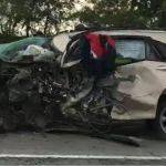 Lexus всмятку: смертельное ДТП произошло на трассе Новосибирск - Барнаул