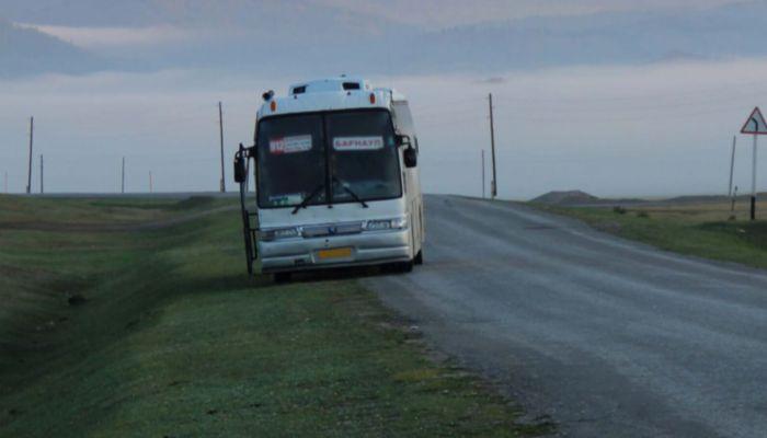Пассажир сообщил о бомбе в салоне автобуса из Барнаула