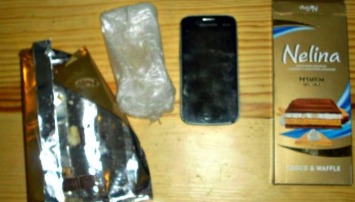 В рыбе, шоколаде, пене для бритья: как в алтайские колонии передают телефоны