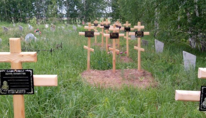 Три креста на одну могилу: как на Алтае хоронят невостребованных покойников