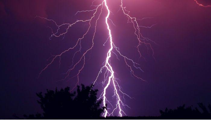 За выходные в Новосибирской области молния убила двух мужчин