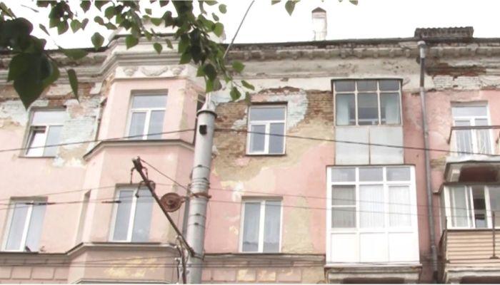 Обрушающиеся дома в центре Барнаула готовят к капитальному ремонту