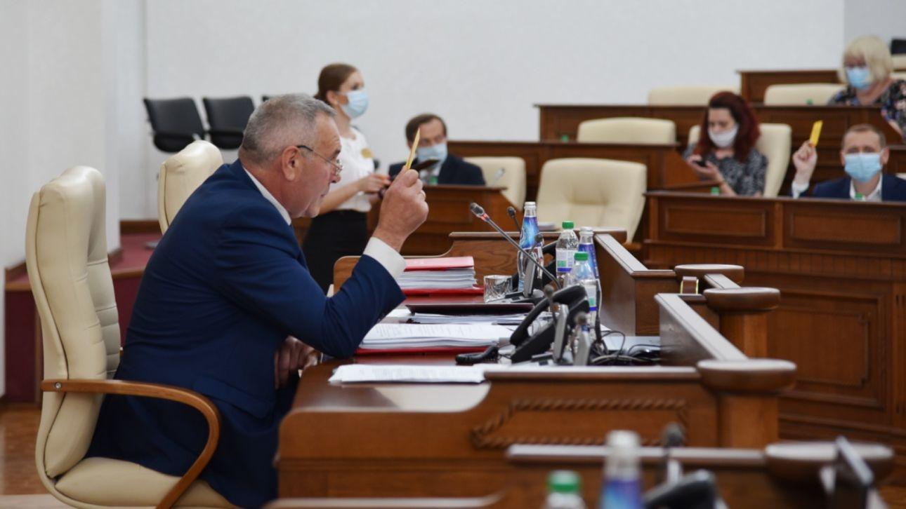 Алтайский парламент позаботился о зеленых зонах, отдыхающих и избирателях