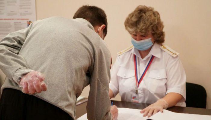 Более тысячи заключенных проголосовали по Конституции на Алтае