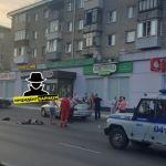 Страшная картина: женщина-пешеход пострадала в ДТП в Барнауле