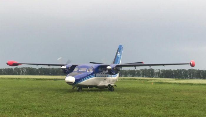 В Белокурихе впервые за 30 лет сел пассажирский самолет