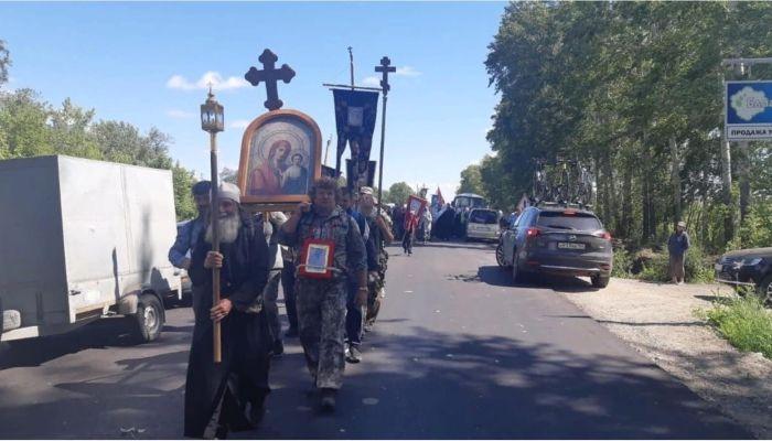 Организаторов крестного хода на Алтае накажут за нарушение самоизоляции