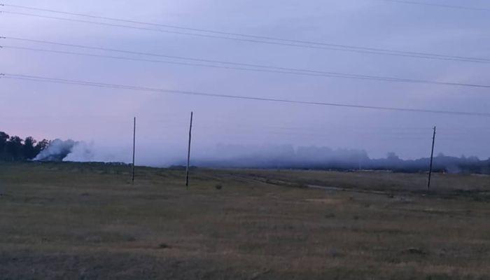 Нас травят!: жители Павловска возмущены многонедельной вонью от горящей свалки