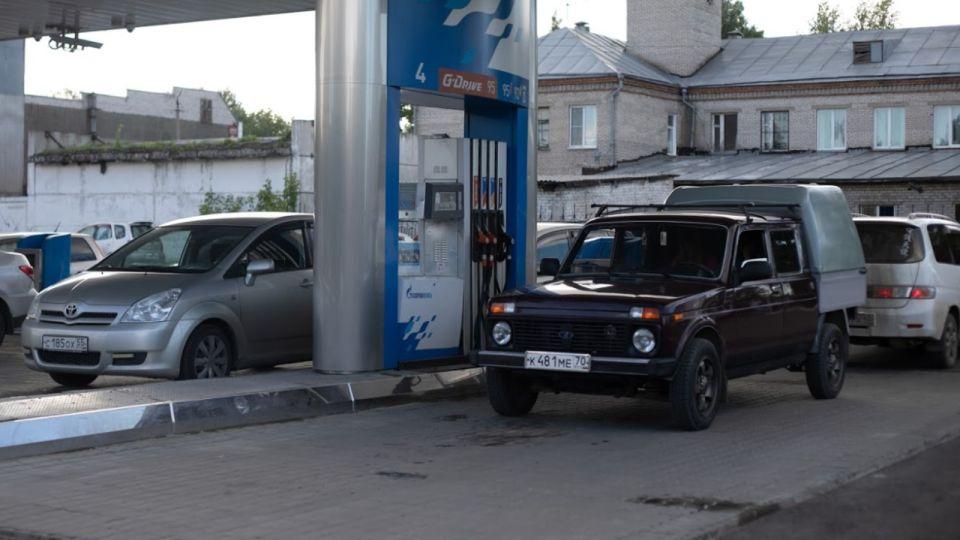 АЗС. Бензин