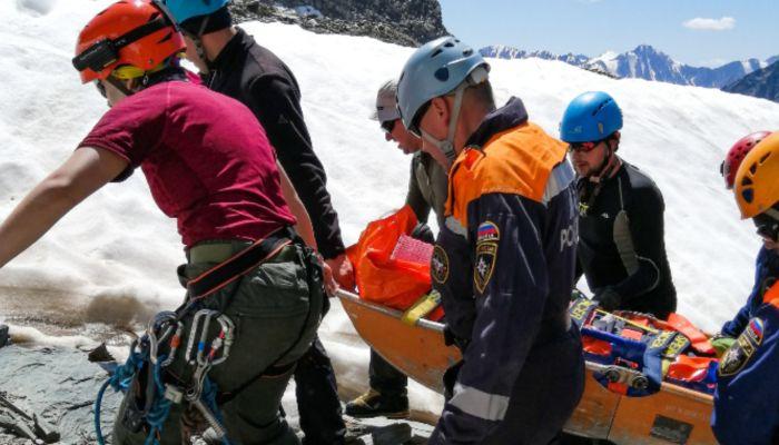 26-летняя туристка пострадала в горах Республики Алтай