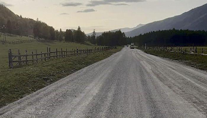В Республике Алтай отремонтировали дорогу Усть-Кан – Коргон