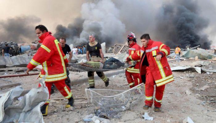 Россиян не нашли среди серьезно пострадавших при взрыве в Бейруте