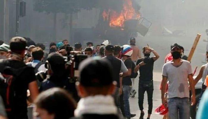 Беспорядки в Бейруте: силовики освободили два захваченных здания