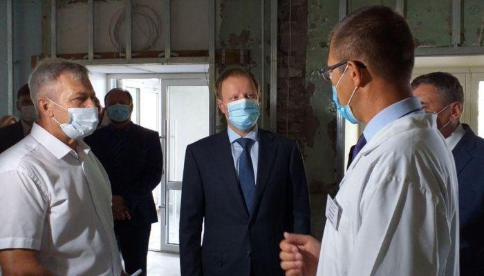 Томенко проверит капремонт заринской ЦРБ, стадиона и модернизацию завода