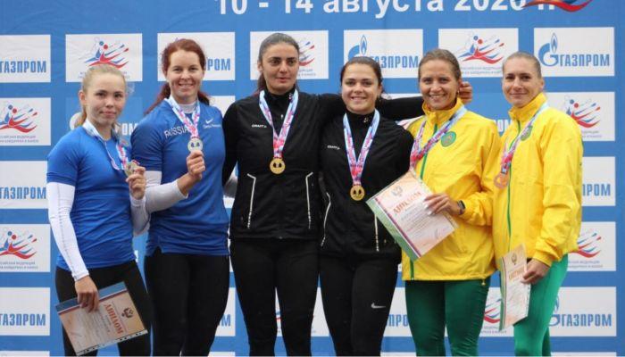 Алтайские гребцы завоевали медали чемпионата России