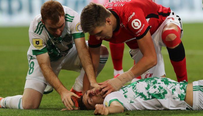 Ахмат поблагодарил алтайского футболиста, откачавшего Зорана Нижича