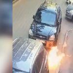 В Краснодаре подростки сбросили коктейль Молотова на прохожих