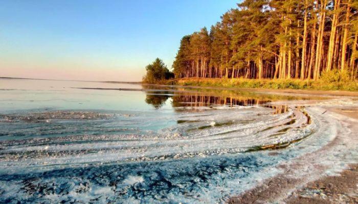 Экологическая катастрофа: что случилось на алтайском озере Горькое-Перешеечное