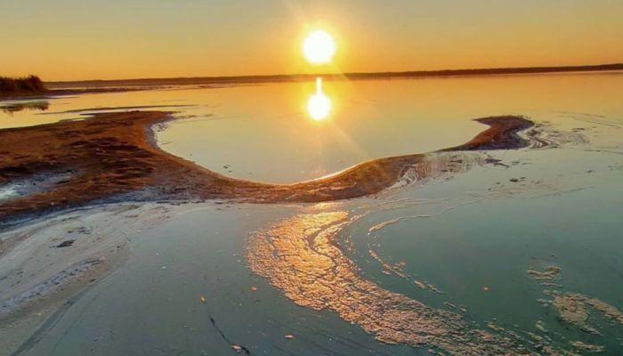 Минприроды проверит жалобы на химический запах и дохлую рыбу на алтайском озере