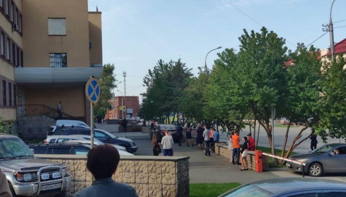 Неизвестный сообщил о минировании новосибирского железнодорожного суда