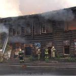 Барнаульцы рассказали о возможных причинах пожара в исторической части города