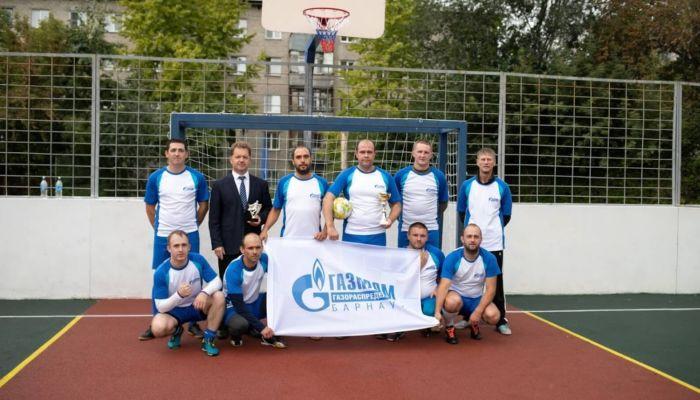 Газпром газораспределение Барнаул подтвердил свою силу в футболе и волейболе