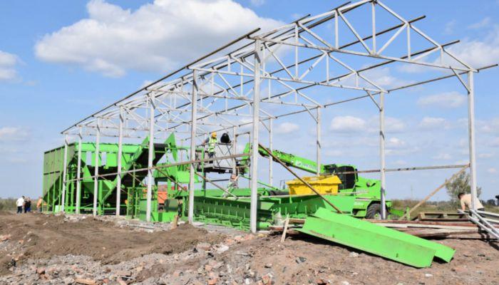 Первый мусоросортировочный комплекс откроют на Алтае в конце ноября