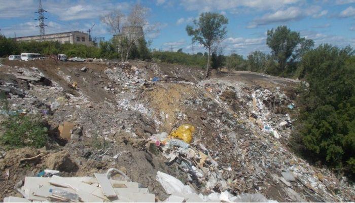 Незаконную свалку на берегу Оби ликвидировали в Барнауле