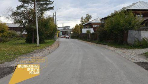 Еще 17 участков дорог сданы в эксплуатацию по нацпроекту БКАД в Барнауле