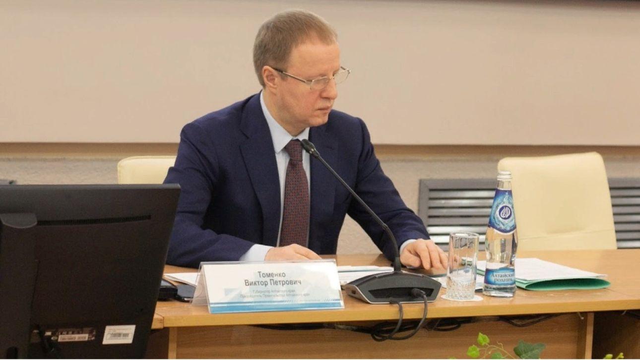 В правительстве края рассказали, как себя чувствует Виктор Томенко