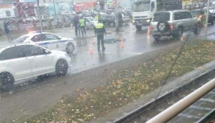 Шесть пешеходов сбили в Барнауле за последние четыре дня