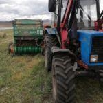 На Алтае пьяный тракторист задавил человека во время заготовки сена