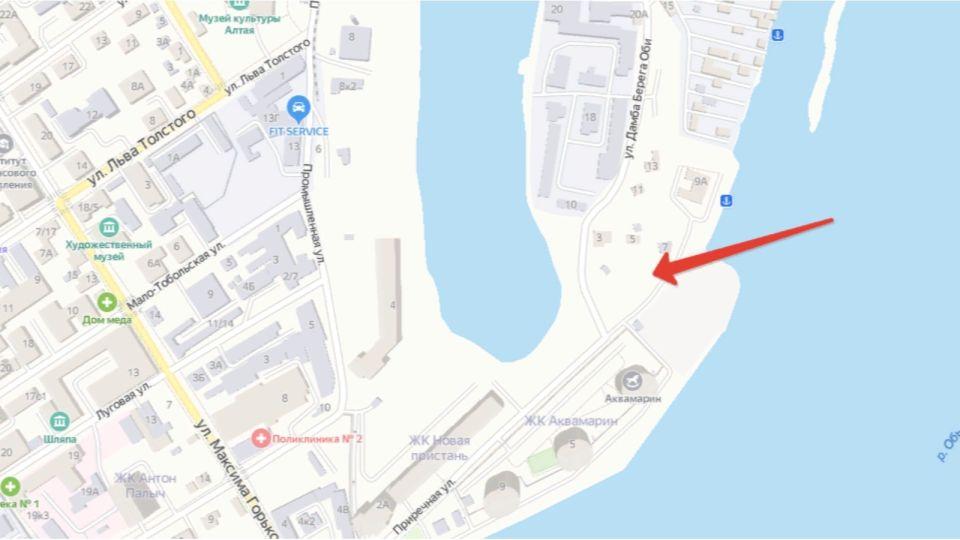 Место для строительства высоток нашли у Речного вокзала в Барнауле