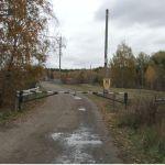 Дорогу к самой большой в крае козьей ферме в Зудилово перекрыли шлагбаумом