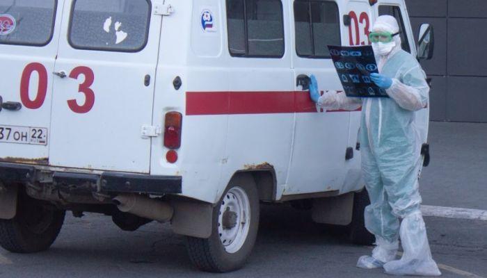 За пять месяцев в Алтайском крае пневмонией заболели более 5,6 тысячи человек