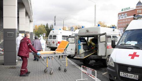 Из-за огромного всплеска ОРВИ в Барнауле кратно возросла нагрузка на скорые