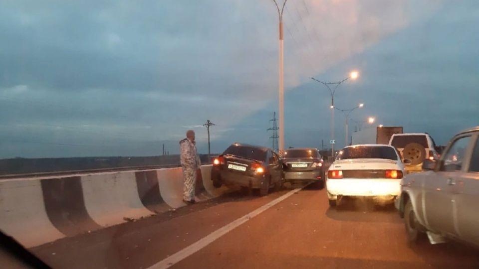 Раскидало семь машин: массовое ДТП произошло на трассе Новосибирск – Барнаул