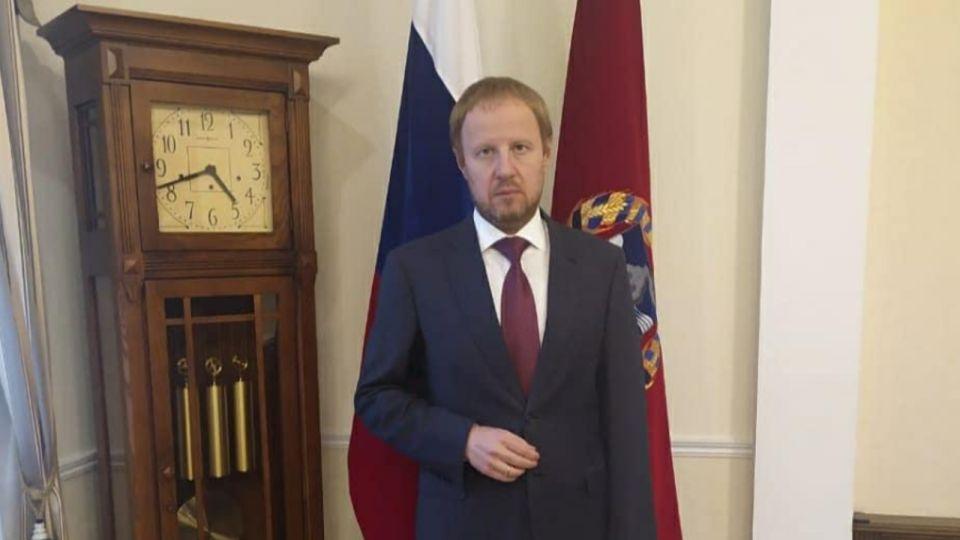 Губернатор Томенко отпустил бороду и рассказал про первый рабочий день