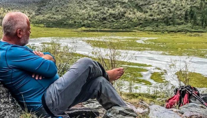 Программист Евгений Касперский провел на отдыхе в горах Алтая 24 дня